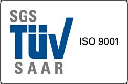 SGS TUV ISO 9001