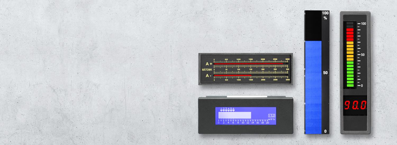 Digitale LED Leuchtbandanzeigen und Bargraph Displays