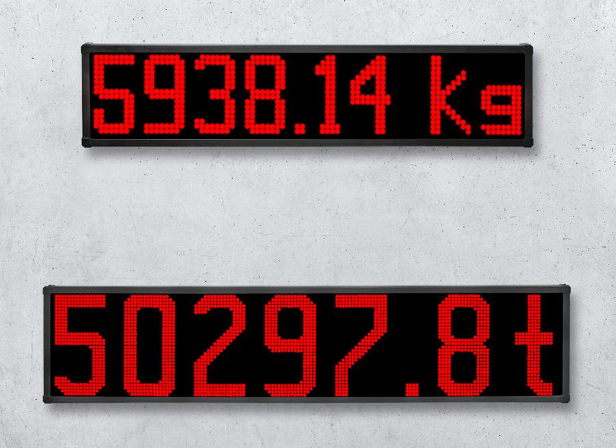 LED-Anzeigen 200-305mm - Digitale Wägetechnik