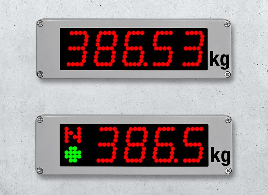 Waegetechnik digitale LED Anzeigen 60mm