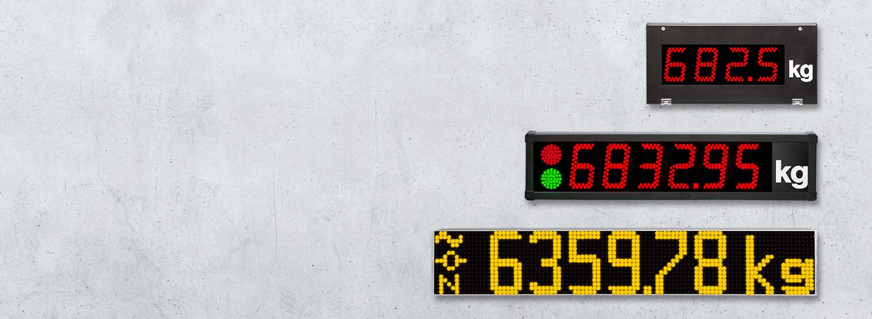 Waegetechnik LED Anzeigen digitale Waage